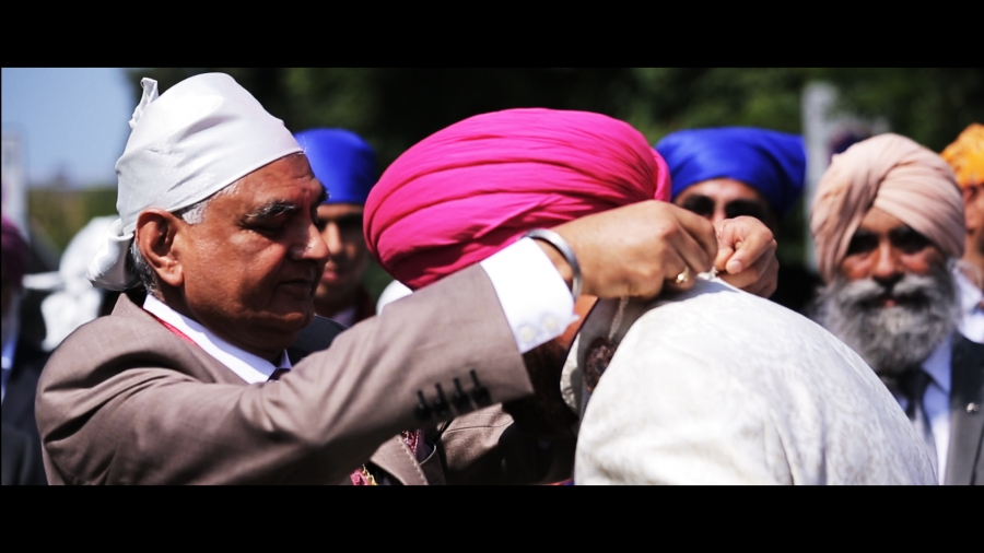 Savill court, windsor, sikh wedding video, south east wedding videographer