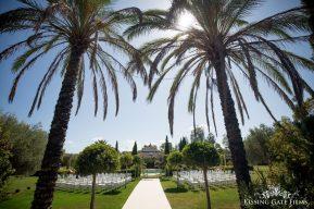Hotel Monasterio de San Martin Ceremony and Pool