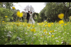 Bibury Court Wedding Video by Destination Wedding Videographers Kissing Gate Films