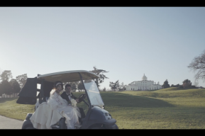 Stoke Park Wedding Video by Destination and London Wedding videographers Kissing Gate Films