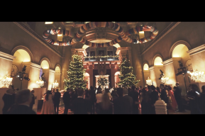 Christmas Wedding Blenheim Palace Wedding Video by Destination Wedding Videographers Kissing Gate Films