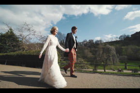 Flora + Jack Canongate + New Club, Edinburgh Wedding Video