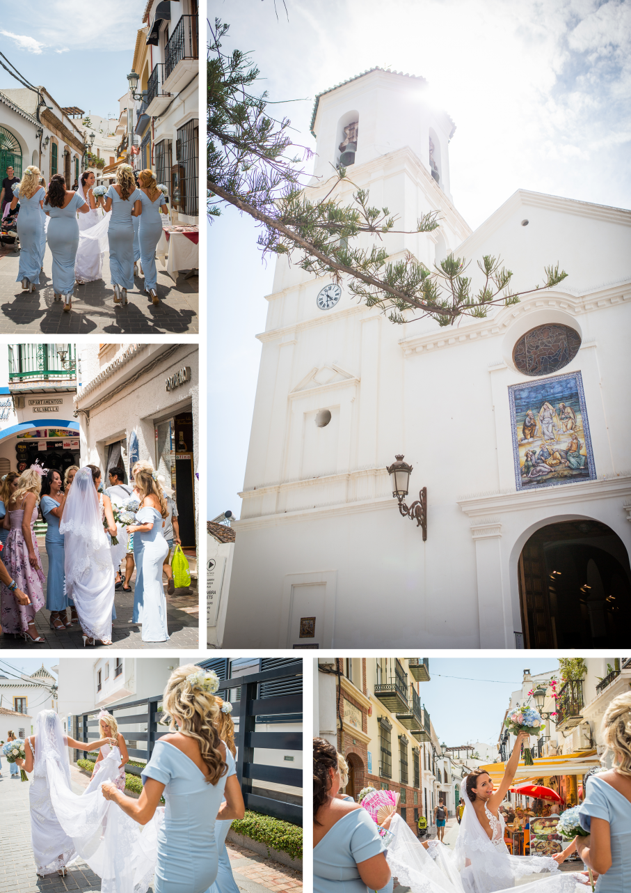 Nerja Wedding Photography Nerja South Spain wedding photo south spain wedding video by destination wedding videographers and gibraltar wedding photographer Kissing Gate Films