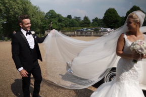 Grace and Sean Hedsor House Wedding by Buckinghamshire Wedding Videographer and South East Wedding Videographer Kissing Gate Films