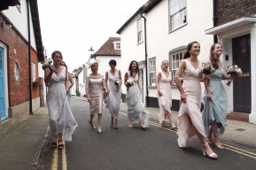 Emma + Toby The Salutation Wedding Video Sandwich Kent by South East Wedding Videographer